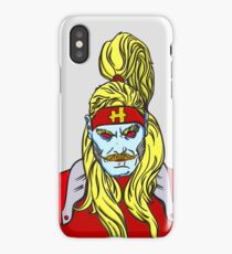 Omega Red  iPhone Case/Skin