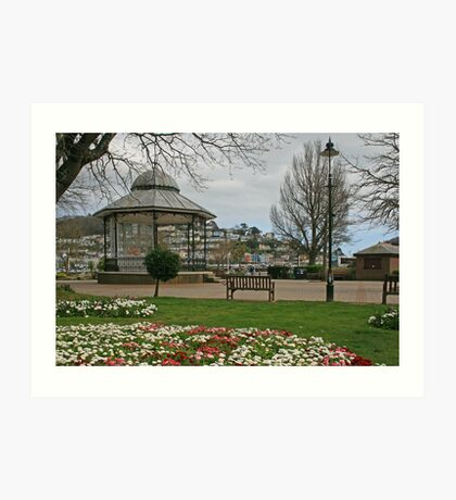Royal Avenue Gardens, Dartmouth Art Print