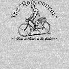 "The ""Randonneur"" cyclist by coloriscausa"