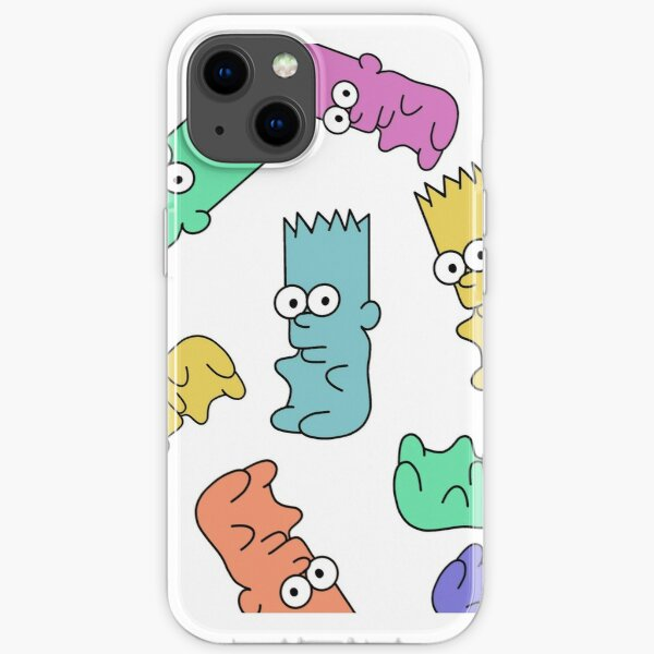 Gummy Bart iPhone Soft Case