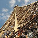 Look Up - Eiffel Tower by Danielle Ducrest