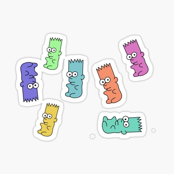Gummy Barts Sticker