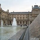 On Glass - Louvre by Danielle Ducrest