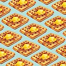 Waffle Pattern by Kelly  Gilleran