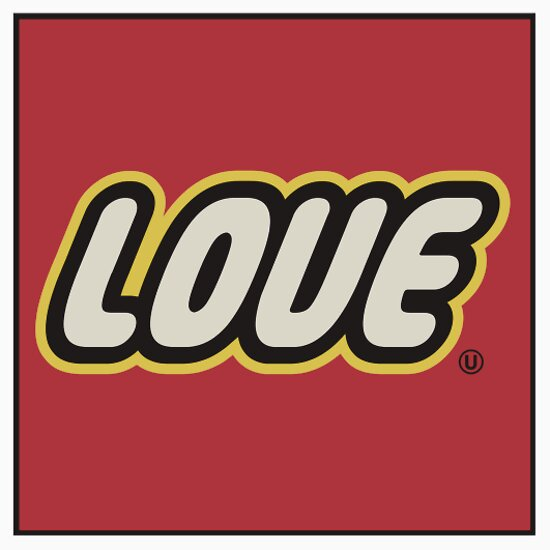 TShirtGifter presents: Love Lego