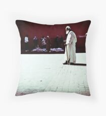 Earnest Entreaty Throw Pillow
