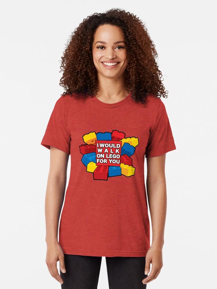Alternative Ansicht von Ich würde auf Lego für dich gehen Vintage T-Shirt