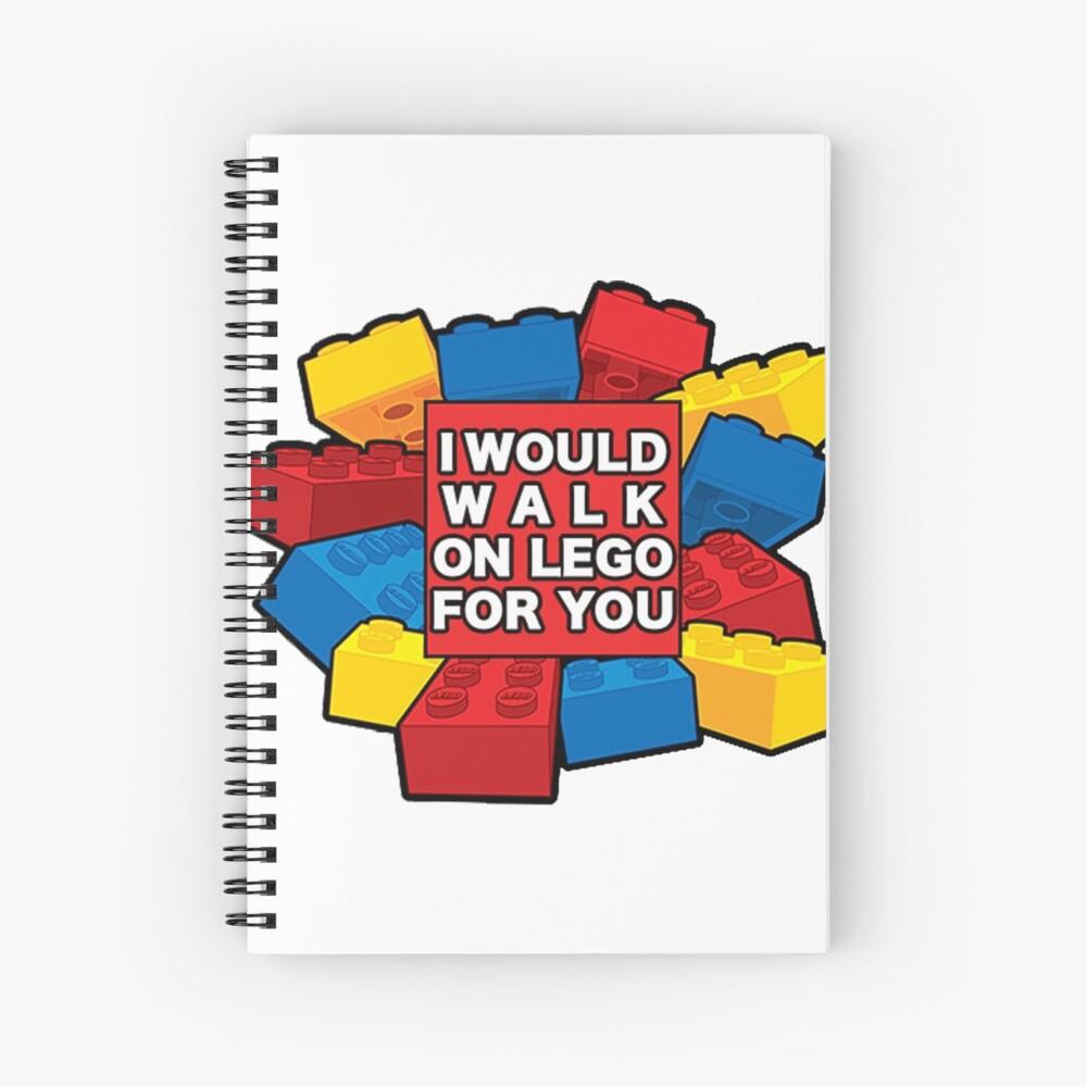 Ich würde auf Lego für dich gehen Spiralblock