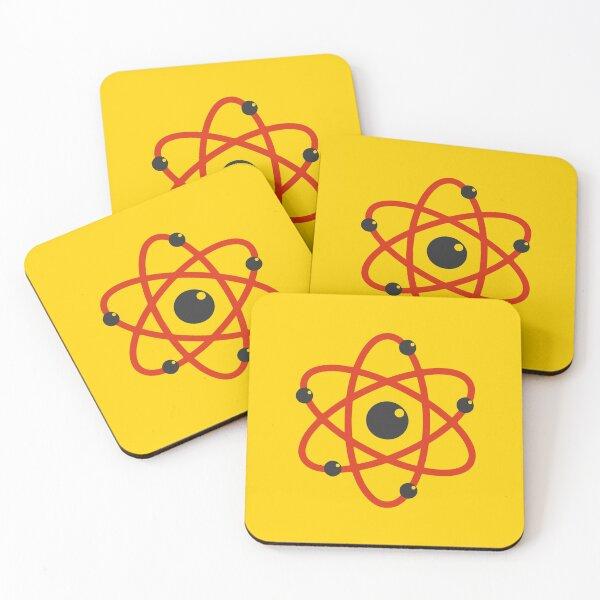 Atom Coasters (Set of 4)