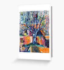 ''HERALD TO SPRING (BRADFORD PEAR TREE)'  Greeting Card