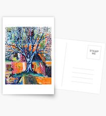 ‎''HERALD TO SPRING (BRADFORD PEAR TREE)'  Postcards