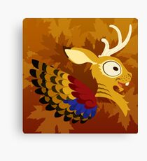 Silly beasty: Wolpertinger Canvas Print