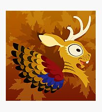Silly beasty: Wolpertinger Photographic Print