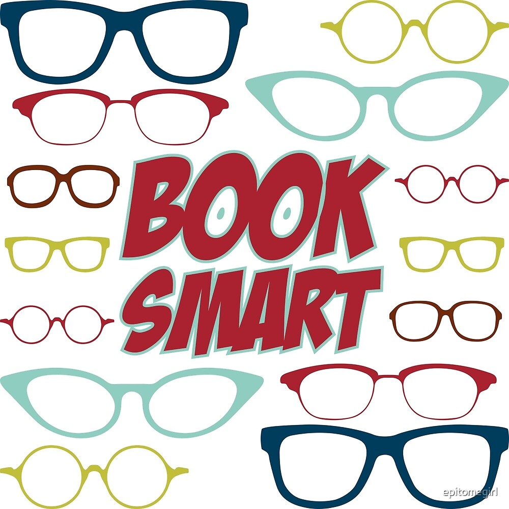 Book Smart Geeky Glasses Pattern by epitomegirl