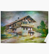 German cottage..... Poster