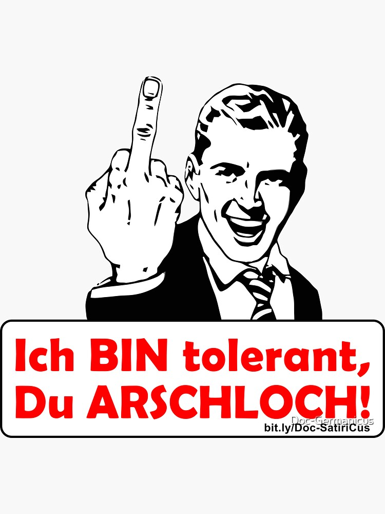 Ich BIN tolerant! | Satire & Spass von Doc-Germanicus