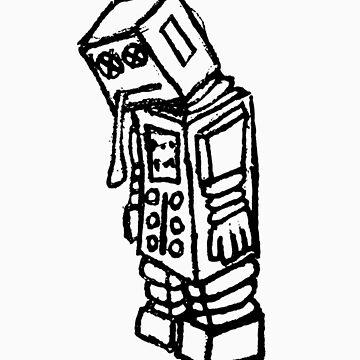 Catatonic Robot by JasonNthaJungle