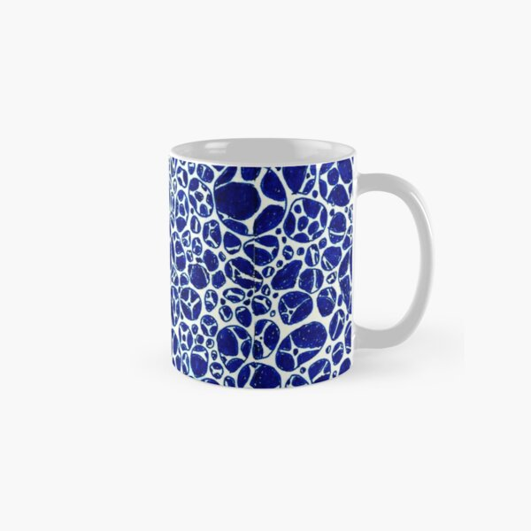Blue Micro Structures Classic Mug