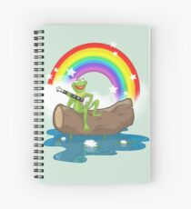 The Rainbow Connection Spiral Notebook