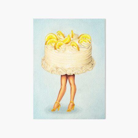 Cake Walk III Art Board Print