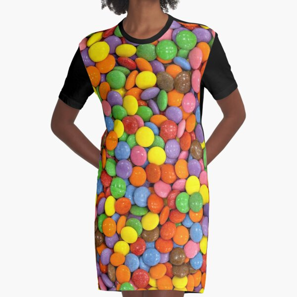 Candy 3 Graphic T-Shirt Dress