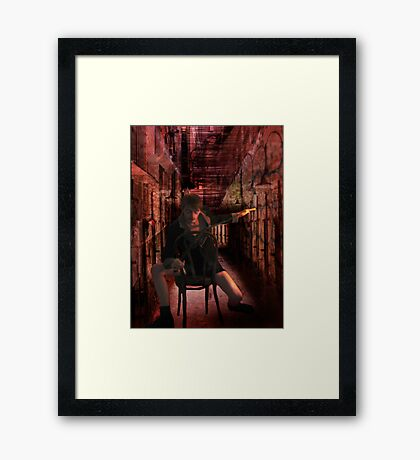 The Labyrinth of Daedalus Framed Print