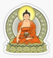 buddha color Sticker