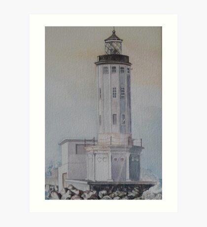 L.A. Harbor Light Art Print