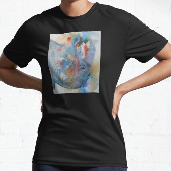 Disappearing Rhino Active T-Shirt