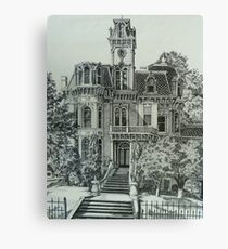 The Old Governor's Mansion Canvas Print