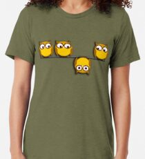Eine ganz neue Perspektive für die Eule Vintage T-Shirt