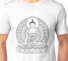 buddha outline Unisex T-Shirt
