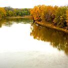 { minnesota river in autumn } by Brooke Reynolds