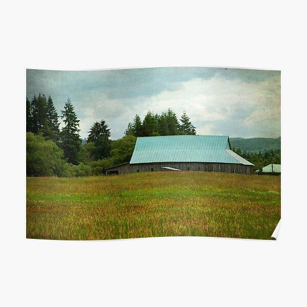 Blue Tin Roof - Chehalis, Wa. Poster