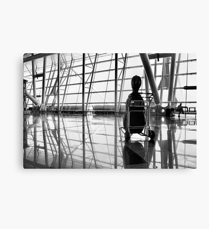 Airport music Canvas Print