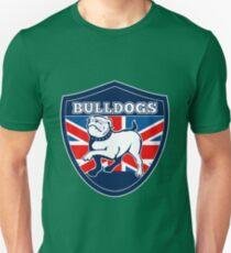 Proud English British Bulldog flag Unisex T-Shirt