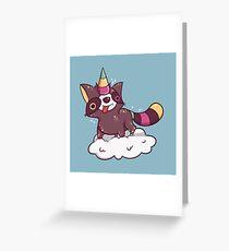 Raccoonycorn! Greeting Card