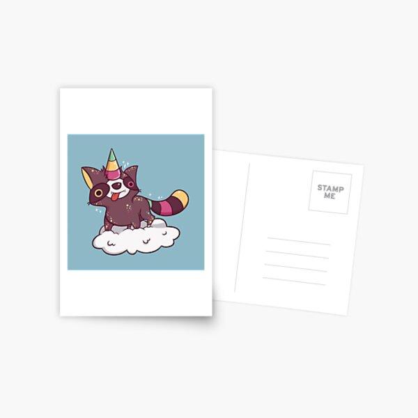 Raccoonycorn! Postcard