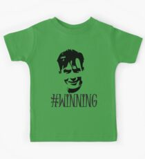 Charlie Sheen Is Winning Kids Tee