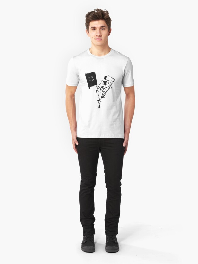 "Alternate view of ""Art Therapy (8)"" Clothing Slim Fit T-Shirt"
