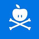 Apple & Crossbones. by steviecomyn