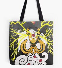 Tribalish Mega Ampharos - Eye of the Storm Tote Bag