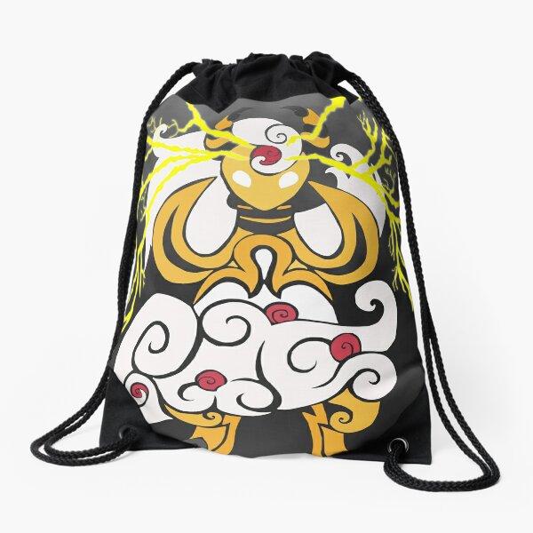 Tribalish Mega Ampharos - Eye of the Storm Drawstring Bag
