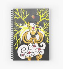 Tribalish Mega Ampharos - Eye of the Storm Spiral Notebook