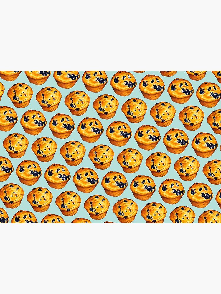 Blueberry Muffin Pattern by KellyGilleran