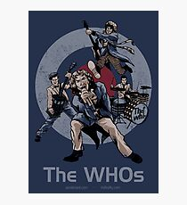 The WHOs Photographic Print