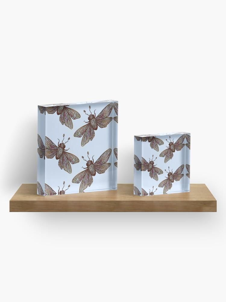 Alternate view of Apocalypse Insect Acrylic Block