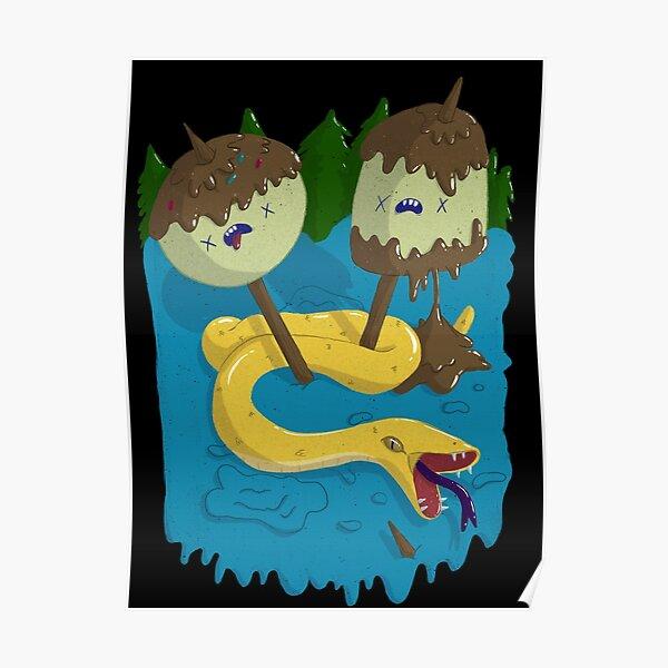 Princess Bubblegum's Rock T-shirt  Poster