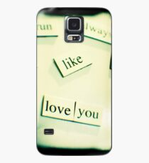 Love you Case/Skin for Samsung Galaxy