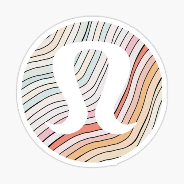 lululemon sticker Sticker